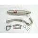 TRC Competition Series Exhaust System w/Aluminum Muffler - 2275503-SA