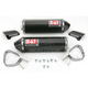 TRC Dual Glossy Carbon Fiber Bolt-On Mufflers - 1416472