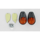 Flush Mount Marker Lights - Single Filament - 25-8016