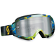 Tangent Blue/Green Hustle Goggles - 2177823605015