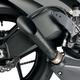 Black Ceramic Slash-Cut Megaphone Slip-On Muffler - 50801-2101