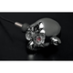 Universal Chrome Archfiend 2.91 in. Super Bright Red Xenolen LED Indicator Lights - 12-774