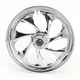 Front 18 in. x 3.5 in. Drifter One-Piece Forged Aluminum Chrome Wheel - 18350-9917-101C