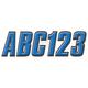 Blue/Black 800 Series ID Kit - BLBLK800
