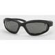 Black C-1 Performance Sunglasses w/Smoke Lens - C-1BK/SM