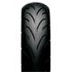 Rear SS-530 130/70P-13 Blackwall Tire - 122536