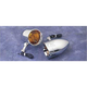 Rigid Bullet Turn Signals w/ Amber Lens Kit - LSK-1820A-R