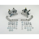 Front Dual Disc 125x4S Chrome Caliper Kit for Stock or Custom Wire Spoke Wheel with 11 1/2 in. Rotor - 1219-0018-CH