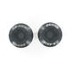 Black 8mm D Axis Spools - DXS-8.2-BK