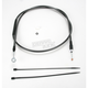 Black Pearl Designer Series Alternative Length Clutch Cables for Custom Height/Width Bars - 422216HE