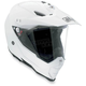 White AX8 Dual Sport Evo Helmet