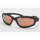 Black C-1 Performance Sunglasses w/Driving Lens - C-1BK/DR