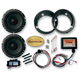 6 1/2 in. Titan II Speaker Upgrade Kit w/Universal Titan Amplifier - BT4572