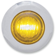 Mini Amber LED Marker Lights with Clear Lens - 402160