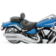 Studded Wide Touring Seat with Driver Backrest - 79550