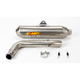 Factory 4.1 Natural Titanium Slip-On w/Stainless Midpipe - 044211
