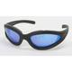 Black C-3 RV Performance Sunglasses w/Blue RV Lens - C-3BK/BLU