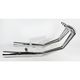 6/2 Chrome Megaphone Exhaust System - 001-1830