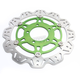 Front Green Vee Brake Rotor - VR4155GRN