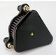Black Smooth High Performance Diamond Air Cleaner Assembly - 10233B