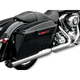 4 in. Slash Out Muffler for Dressers w/Factory 2-1 Exhaust - MHD-483SS