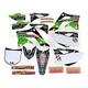 White Hart & Huntington Race Team Graphics Kit w/Seat Cover - N403674