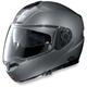 Arctic Gray N104 N-Com Modular Helmet