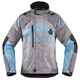 Womens Charcoal/Blue DKR Jacket