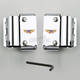 Ranger/Custom/Low Boy Windshield Mounting Kit - KIT-CJJ