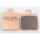 Double-H Sintered Metal Brake Pads - FA47HH