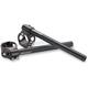 43mm Black Clip-On Handlebars - DCLO43BK