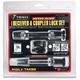Premium Keyed-Alike Hardened Steel 5/8 in. Diameter Reciever and 2 1/2 in. Span Coupler Lock - TM32