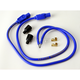 Blue Universal Thunderbolt 50 8.2mm 24 in. Spark Plug Wires w/180 Degree - 67861