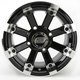 Black 393X Cast Aluminum ATV/UTV Wheel - 0230-0526