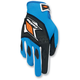 Blue/Orange Circuit Gloves