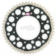 Black TwinRing Heavy-Duty Sprocket - 2240-520-52GPBK