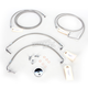 Stainless Steel Brake Line Kit For Use With 15-17 Inch Ape Hangers - LA-8051B16