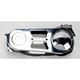 Polished 2 in. Belt Drive Kit w/Top Belt Guard - EV-600