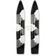 Black/White/Gray Camo Powder Hound Skis - 04-0UC1