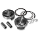 117 in. Domed Piston Kit for Monster Big Bore Kits - 301-119WD