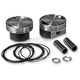 Replacement 883cc to 1250cc Big Bore Piston Kit - 301-414W