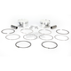 High Performance 12.0:1 4-Stroke Piston Kit by CP Pistons - 91mm Std Bore - 0910-3666
