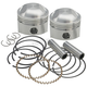 Forged Low Compression Piston Kit (.040
