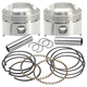Forged Low Compression Piston Kit (.010