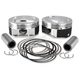 Forged High Compression Piston Kit - 4.010 in. Bore - 920-0115