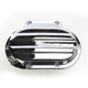 6-Speed Hydraulic Actuated Chrome Drive Transmission Cover - 066-2033-CH