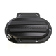 6-Speed Hydraulic Actuated Black Ops Drive Transmission Cover - 066-2033-SMB