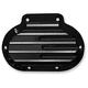 Black Finned Hydraulic Transmission Side Cover - C1362-B