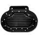 Black Dimpled Hydraulic Transmission Side Cover - C1363-B