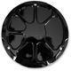 Decadent Black Powdercoat Fusion Derby Cover - LA-F430-02B